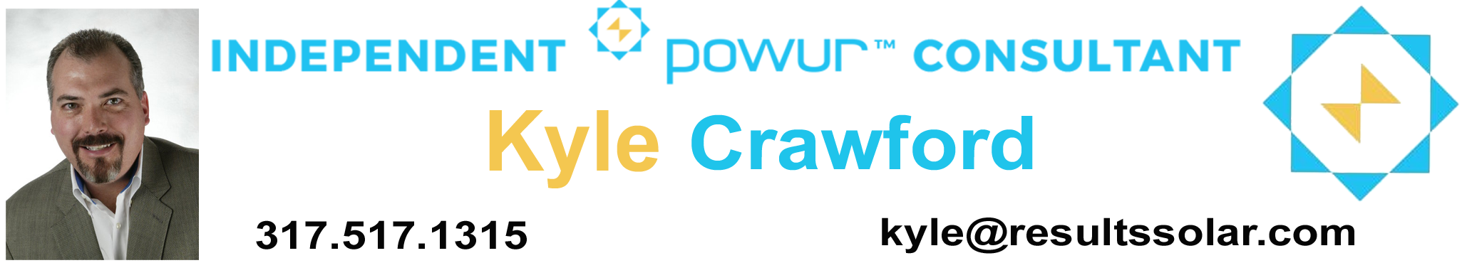 Independent POWUR consultant Kyle Crawford can help you easily decide if going SOLAR is right for you!